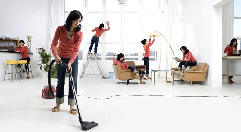 مهندس و برنامه ریزی برای خانه تکانی