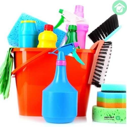 نظافت و تمیز کاری منزل