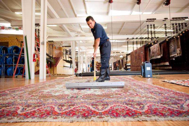 شستشوی فرش در قالیشویی شمال تهران