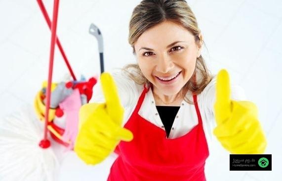 لیستی از بهترین نکات نظافت منزل