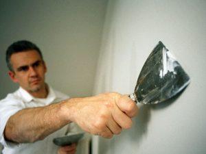 رنگ آمیزی دیوارهای گچی