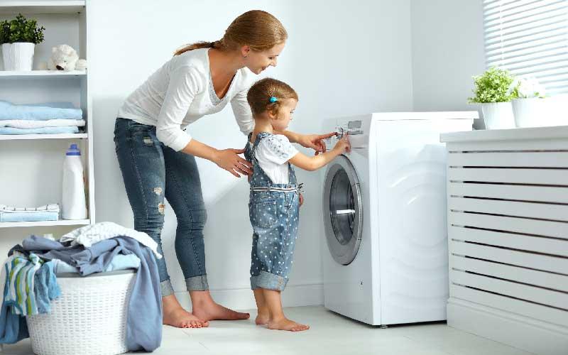 نکات نگهداری از ماشین لباسشویی در منزل