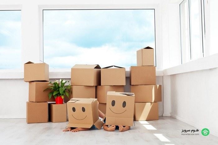 اسباب کشی و حمل اثاثیه منزل را حرفه ای انجام دهید!