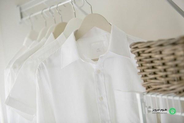 نحوه شستن لباسهای سفید