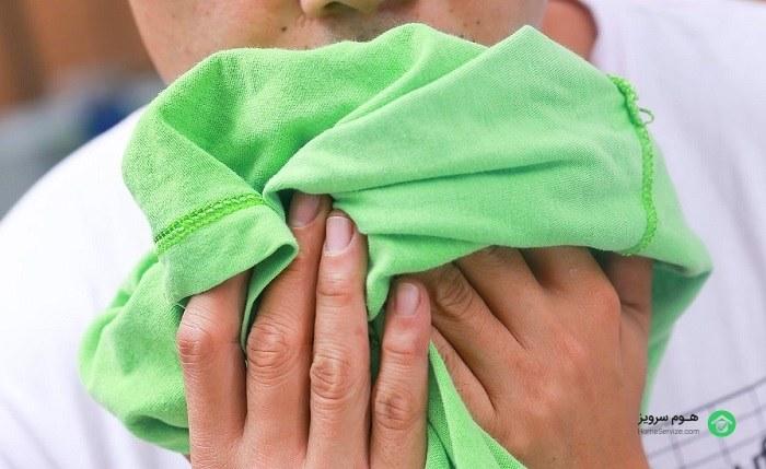 جلوگیری از ایجاد بوی نامطبوع
