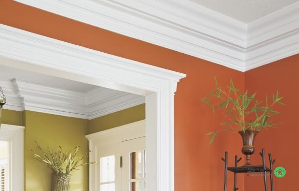 for Standard crown molding size