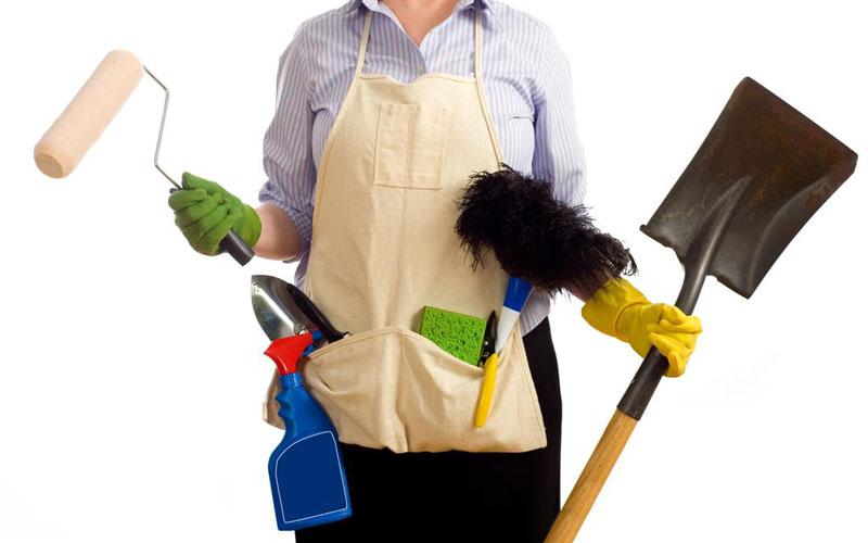 نیروی نظافتی برای خانهتکانی در تهران