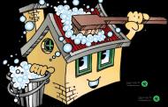 راهنمای نظافت در خانهتکانی