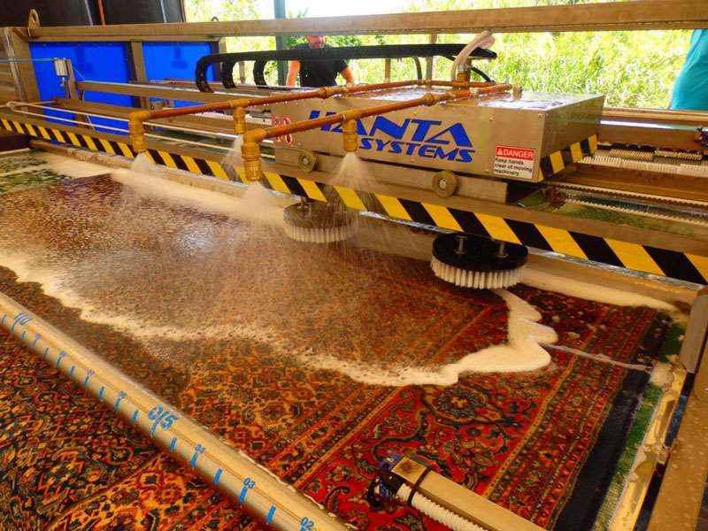 نرخ خدمات قالیشویی