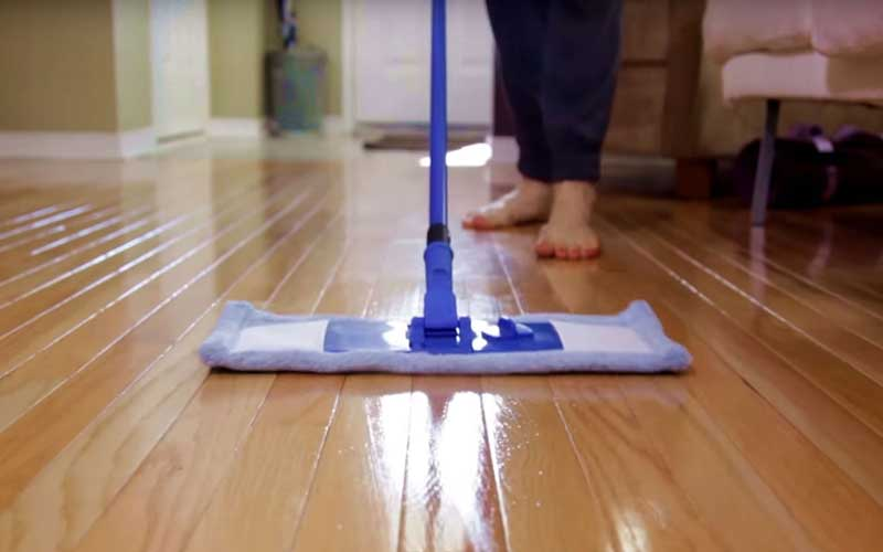 ترفندهای تمیز کردن خانه و کفپوش ها