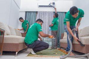 سامانه خدمات نظافت منزل