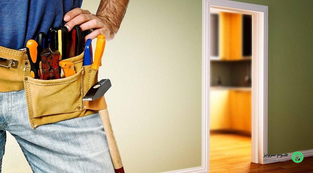 هزینه بازسازی و تعمیرات ساختمان