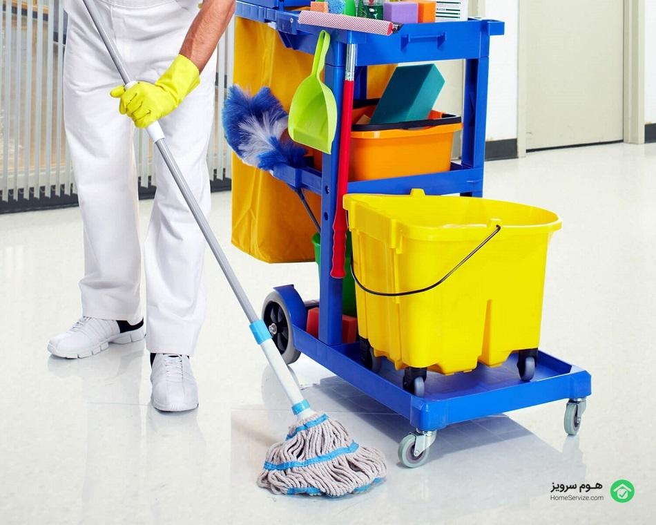 بهترین شرکت خدماتی نظافتی