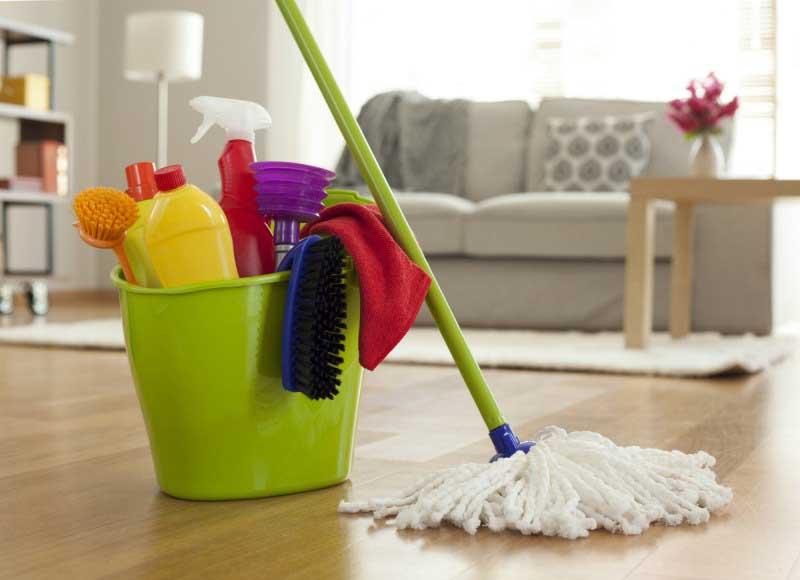 نظافت منزل توسط خانم شمال تهران