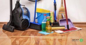 برنامه ریزی شرکت خدماتی نظافتی