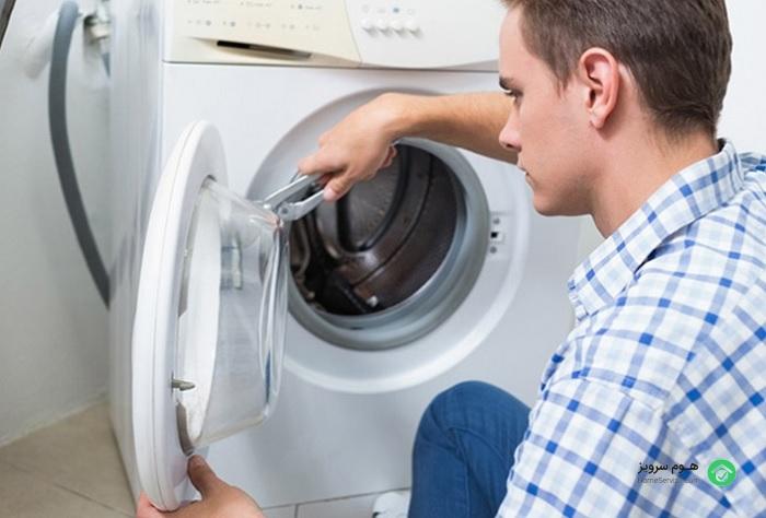 طریقه نصب ماشین لباسشویی