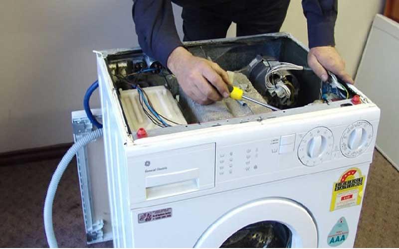 عیب یابی و تعمیر ماشین لباسشویی دوقلو