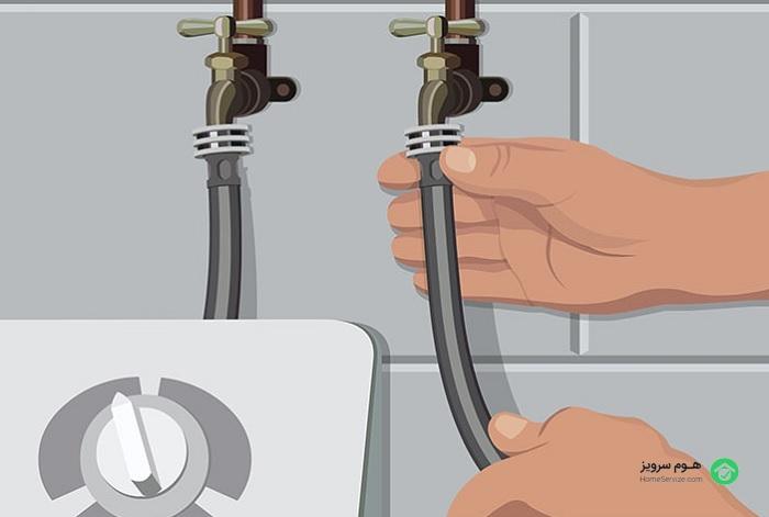 راه اندازی و نصب ماشین لباسشویی