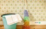 راهنمای شستشوی کاغذ دیواری در نظافت منزل