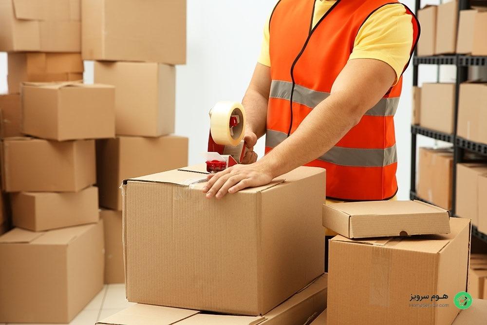 هزینه بسته بندی اثاثیه منزل و جا به جایی