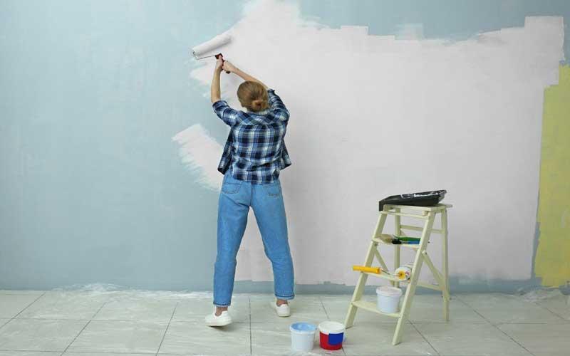 رنگ و نقاشی ساختمان