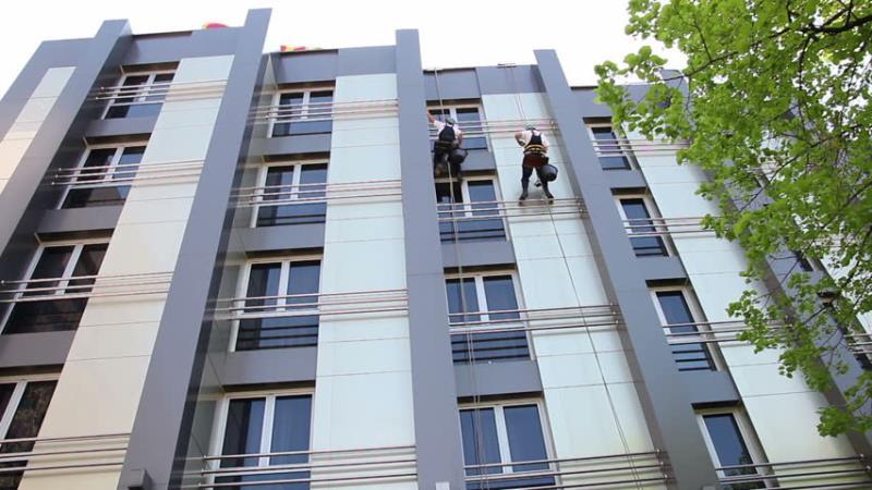 نماشویی ساختمان در تهران