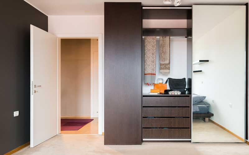 کمد اتاق خواب کوچک