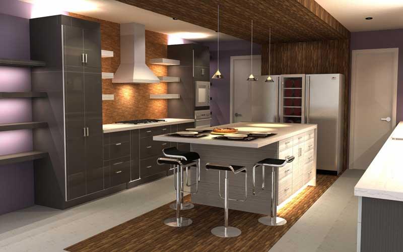 هزینه ساخت کابینت آشپزخانه نقلی