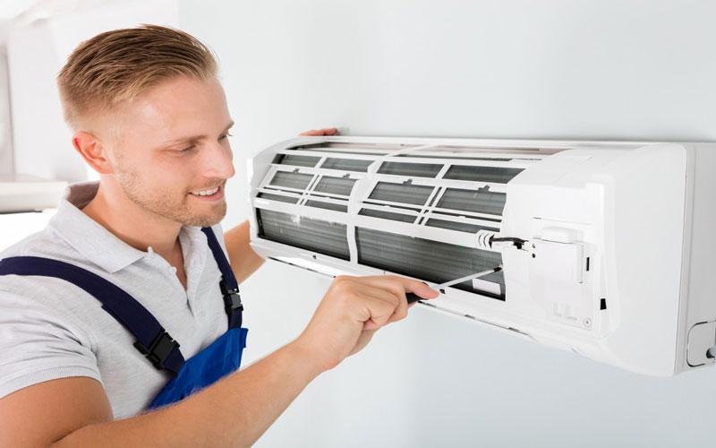 طریقه نصب کولر گازی