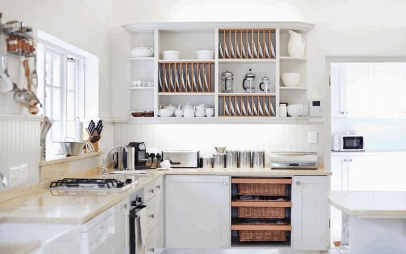 طرح کابینت آشپزخانه کوچک mdf