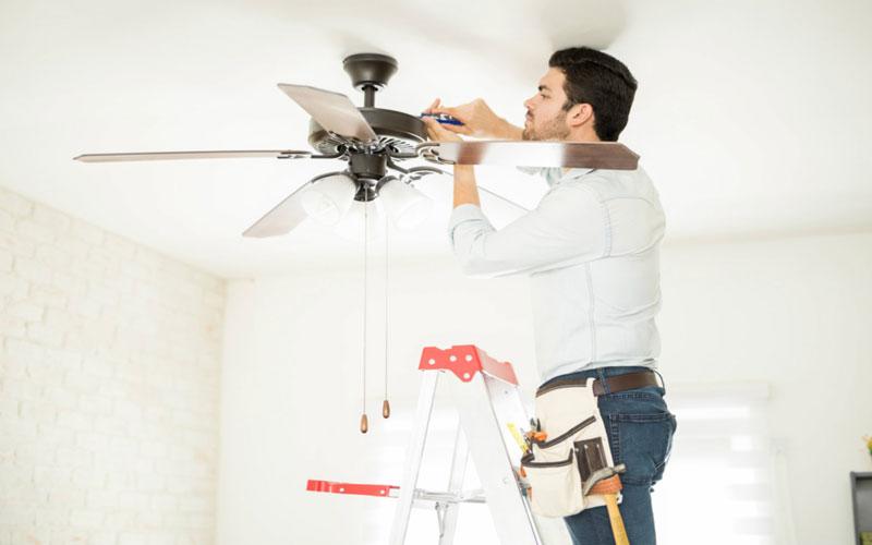 آموزش تعمیر پنکه سقفی