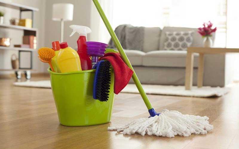 برنامه ریزی برای نظافت منزل ماهانه