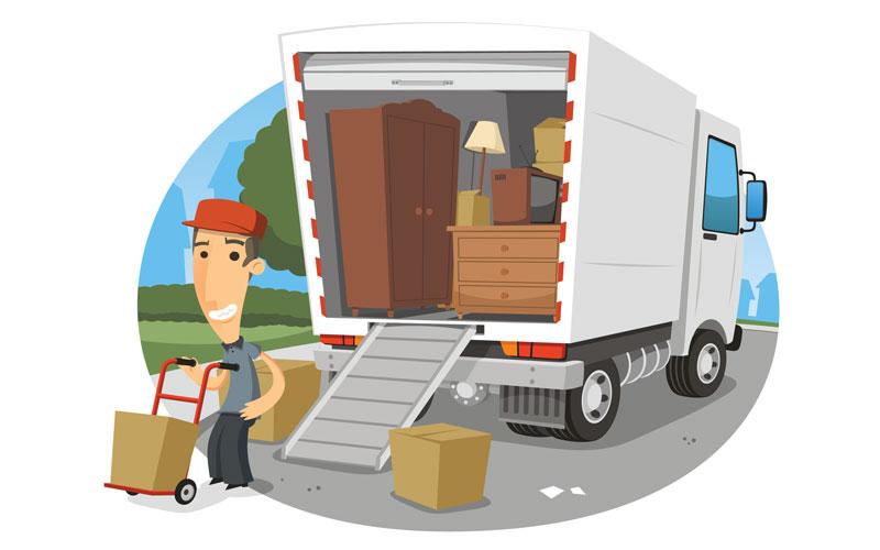 بسته بندی وسایل برای اسباب کشی