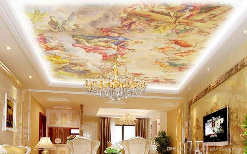Photo of چطور نقاشی سقف خانه را در یک روز تمام کنیم؟