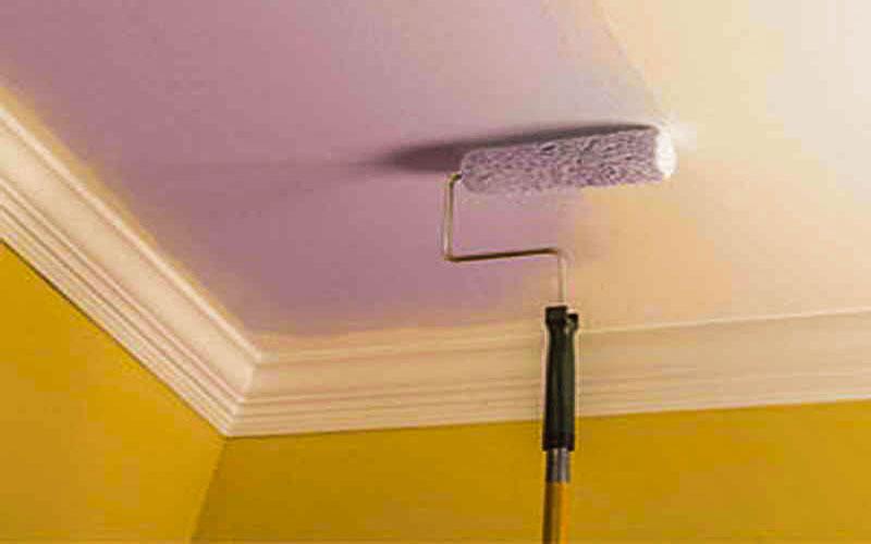 هزینه نقاشی سقف خانه