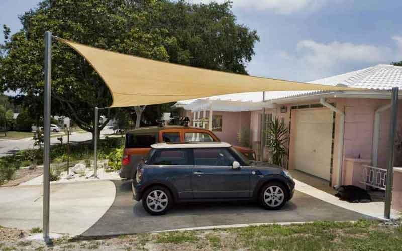 انواع سایبان پارکینگ خودرو