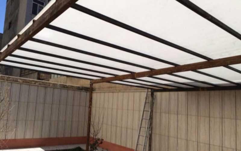 نورگیر سقف حیاط خلوت