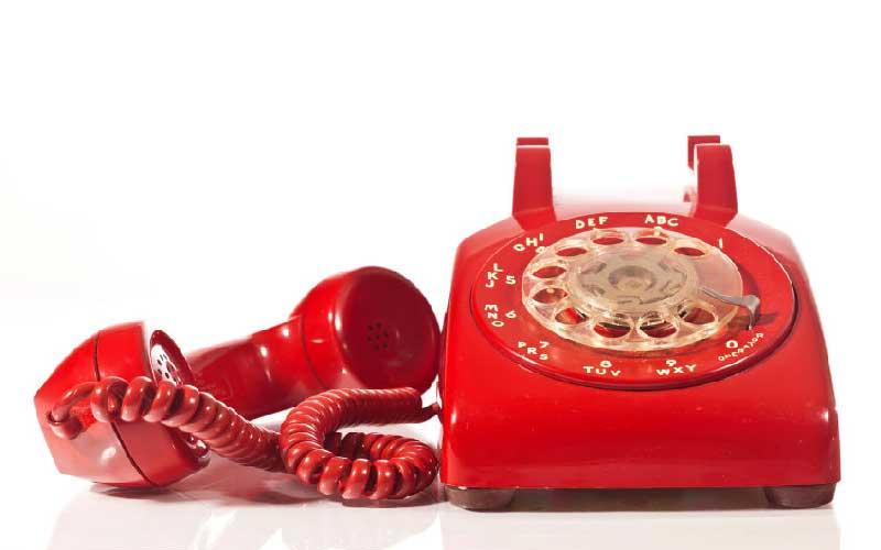 برطرف کردن اتصالی سیم کشی تلفن
