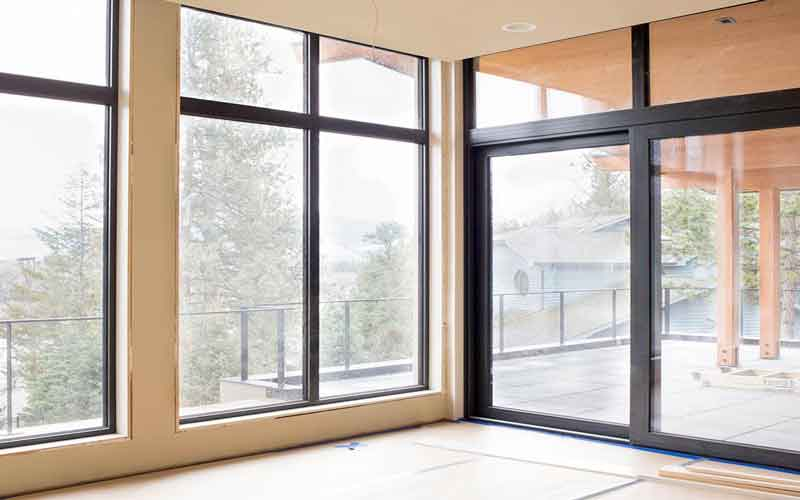 ساخت پنجره دو جداره کشویی