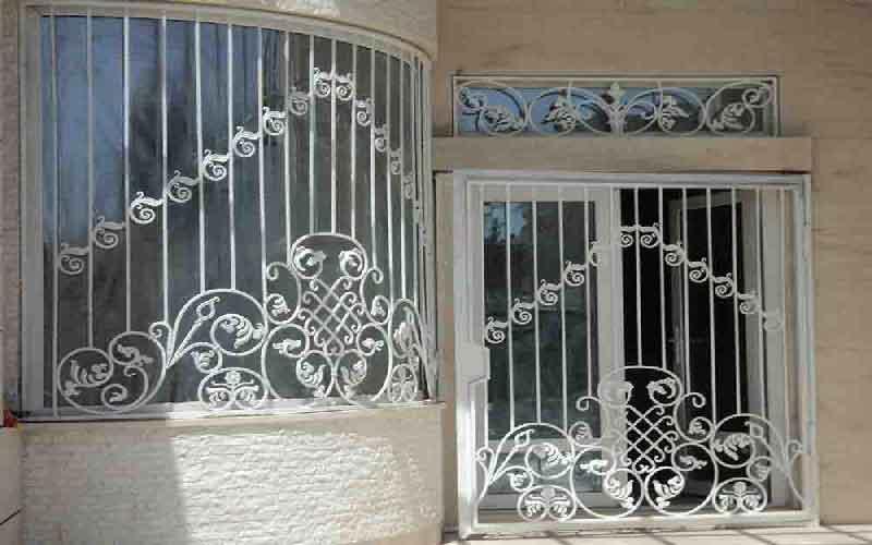 طرح حفاظ پنجره فرفورژه