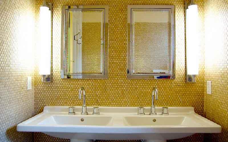 کاشی توالت ایرانی