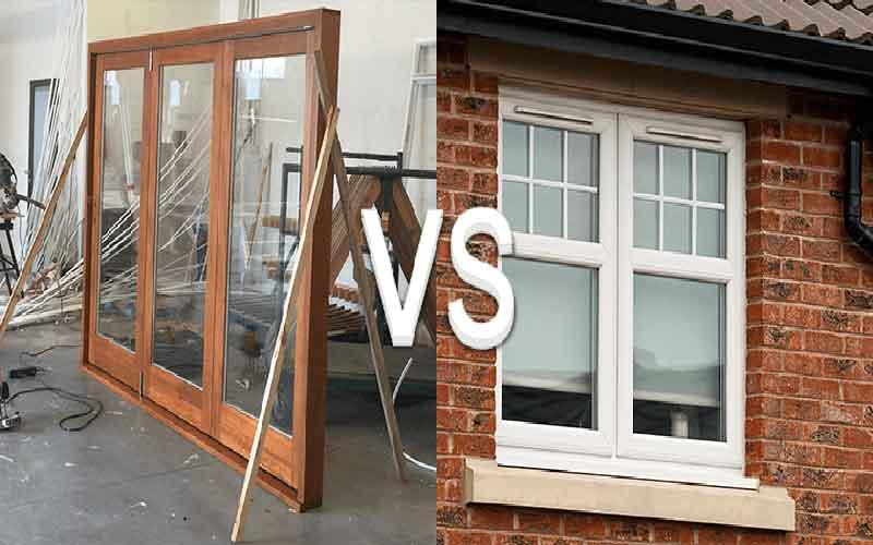 تفاوت درب و پنجره دوجداره upvc و pvc چیست؟