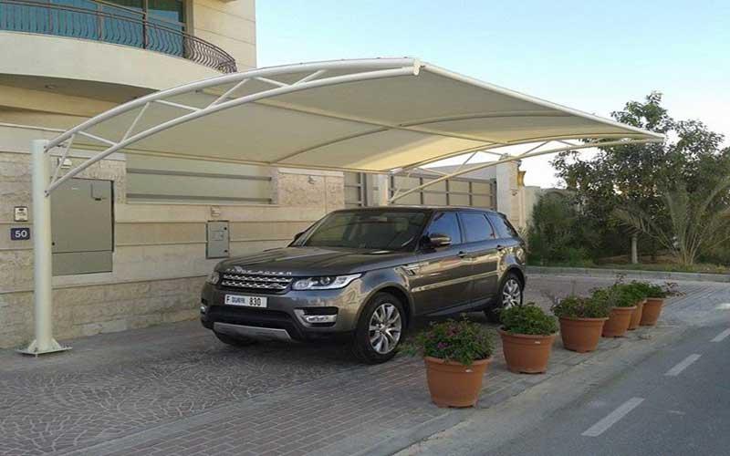 سایبان پارکینگ اتومبیل در منازل