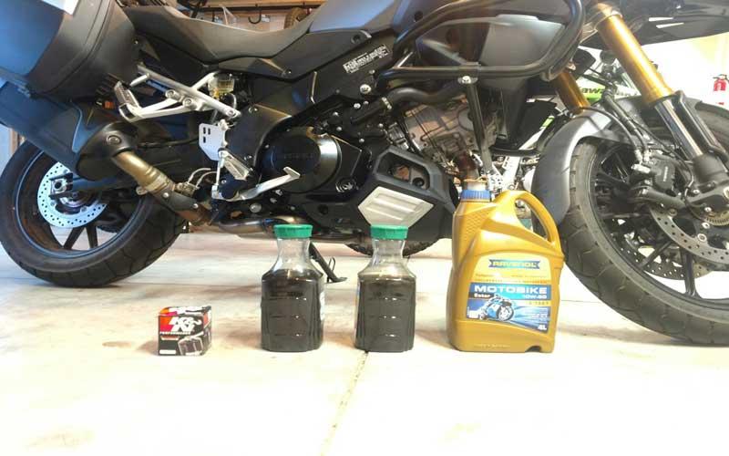تعویض روغن موتور سیکلت