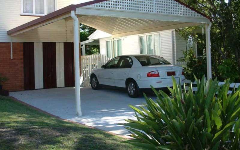 سایبان پارکینگ اتومبیل منازل