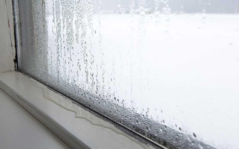 راه حل بخار زدن پنجره دو جداره