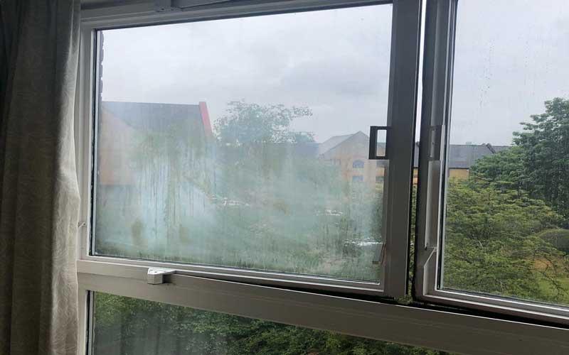 بخار زدن پنجره دوجداره