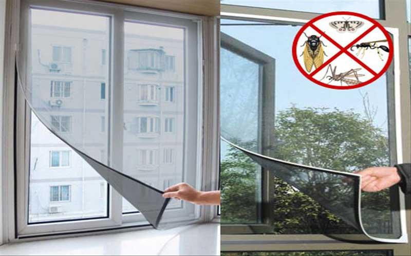 6 نکته مهم در نصب توری درب و پنجره ای