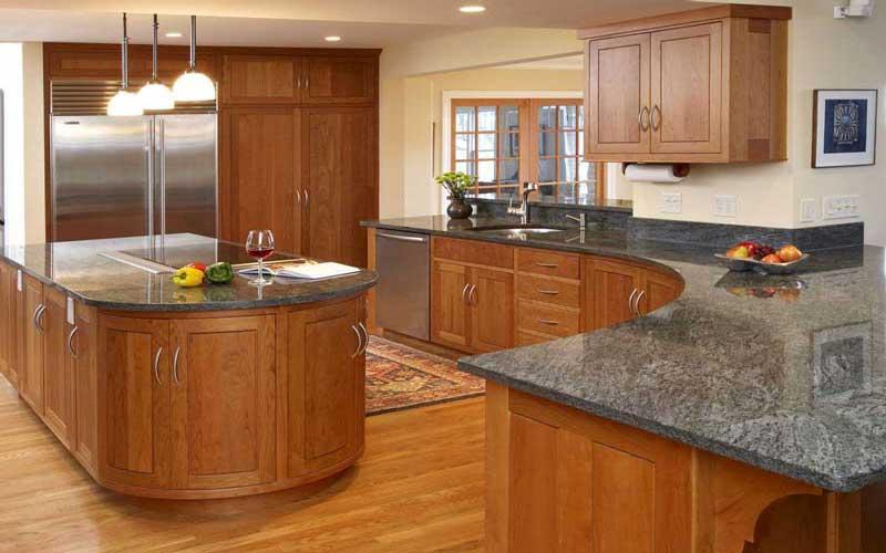 انواع کابینت آشپزخانه در طراحی داخلی