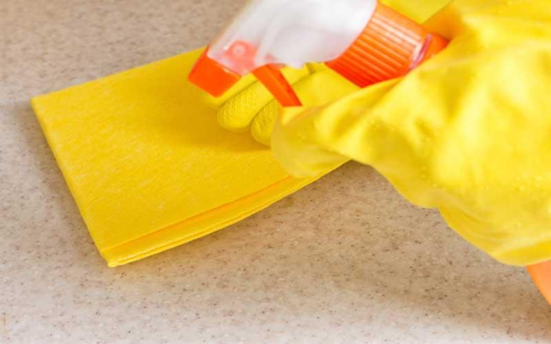 نظافت روزانه در منزل